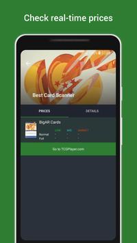BigAR Dragon Ball Z TCG - Card Scanner screenshot 1