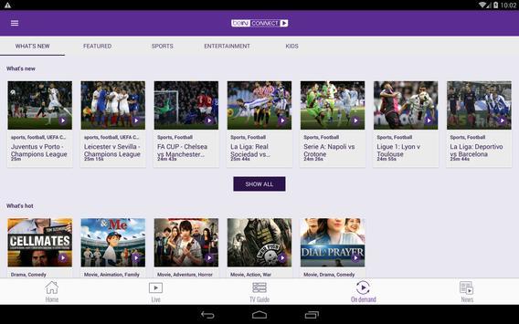 beIN CONNECT apk screenshot
