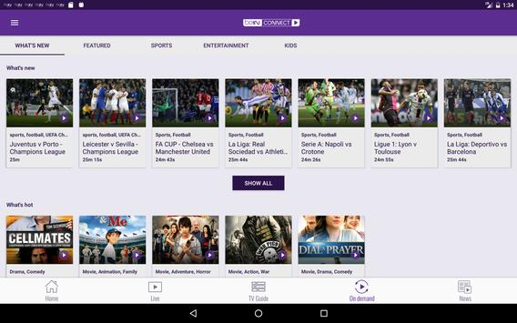 beIN CONNECT captura de pantalla de la apk