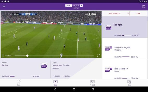 beIN SPORTS CONNECT screenshot 5