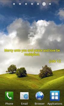 Bible Verses Live Wallpaper F Poster Apk Screenshot