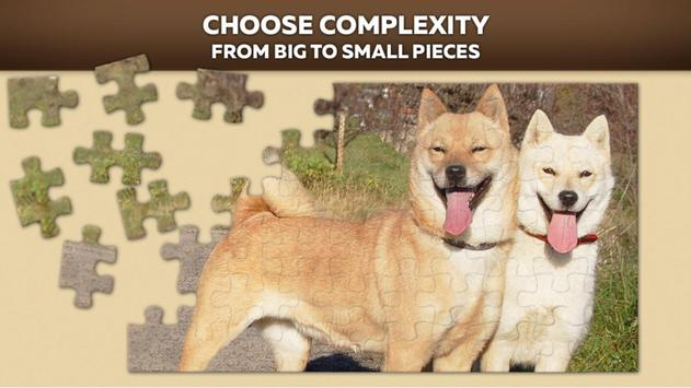 Cute Dog Puzzles poster