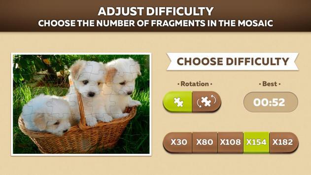 Cute Dog Puzzles screenshot 10