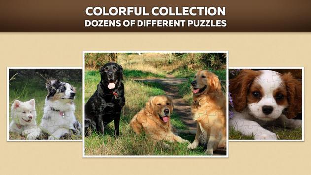 Cute Dog Puzzles screenshot 1