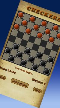 Checkers Game poster