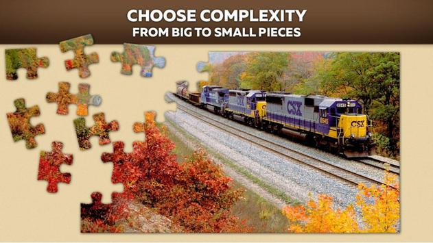 Trains Jigsaw Puzzle Free poster