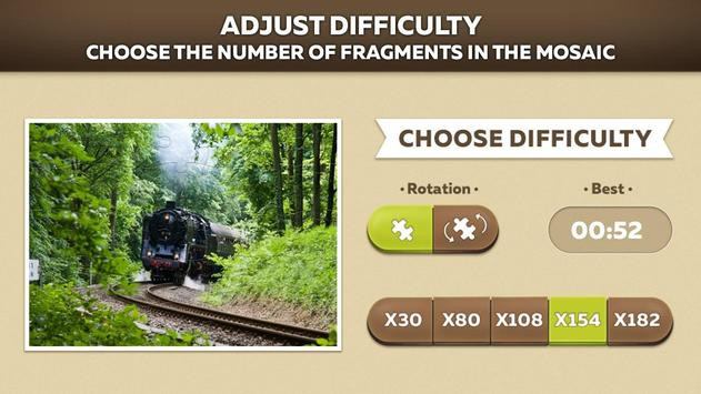 Trains Jigsaw Puzzle Free screenshot 10