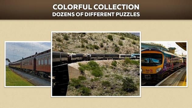 Trains Jigsaw Puzzle Free screenshot 1