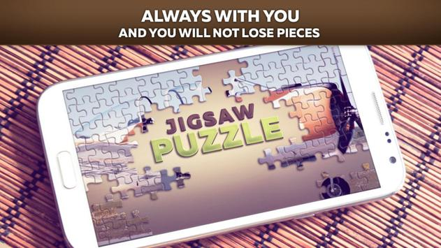 Airplanes Jigsaw Puzzle Free apk screenshot