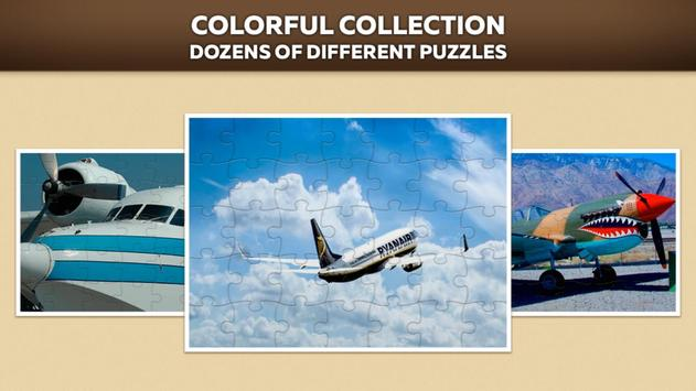 Airplanes Jigsaw Puzzle Free screenshot 1