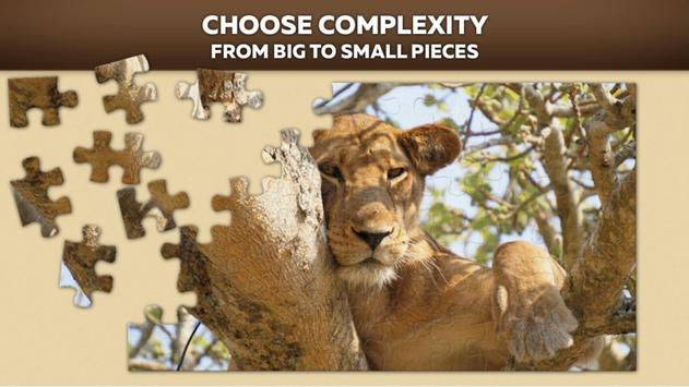 Animal Puzzles Games poster