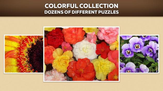 Flower Jigsaw Puzzle Free apk screenshot