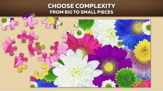 Flower Jigsaw Puzzle Free poster