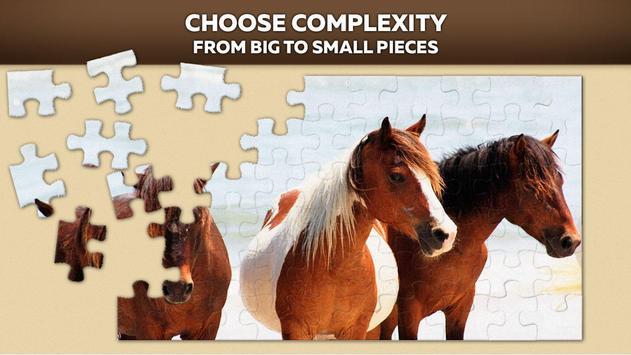 Horse jigsaw puzzles apk screenshot
