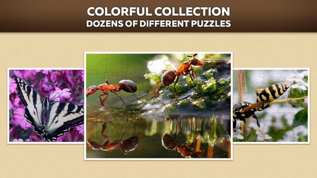 Insects Puzzles For Adults And Kids Free apk screenshot