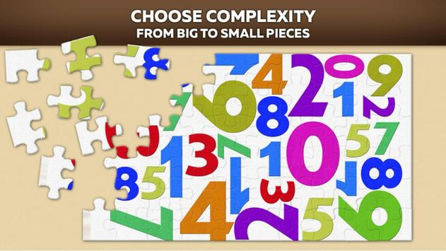Number Puzzles free poster