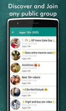WhatsGroup - Join Unlimited Groups apk screenshot