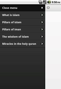 About Islam poster