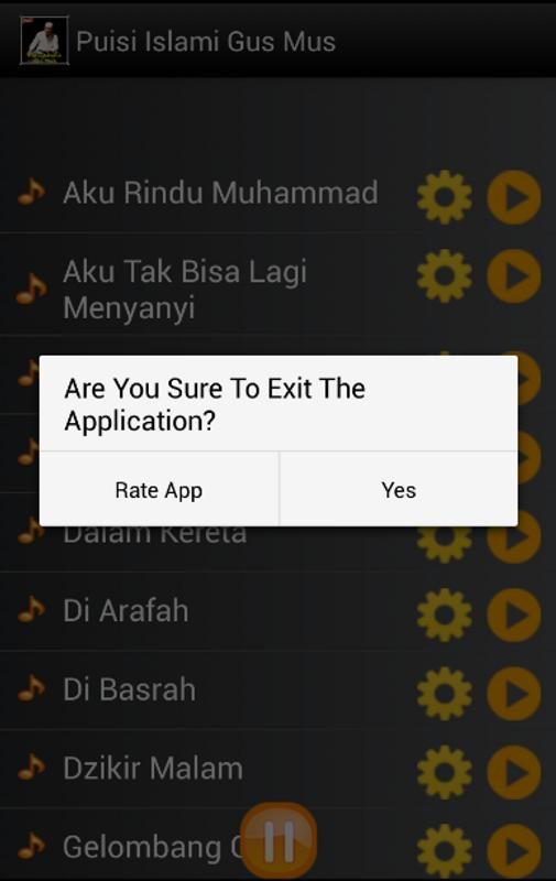 Puisi Islami Gus Mus For Android Apk Download