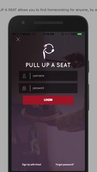 PULL UP A SEAT poster