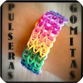 Gummy bracelets icon