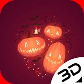 Pumpkin Red Halloween icon