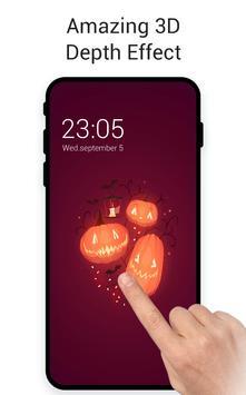 Pumpkin Red Halloween poster