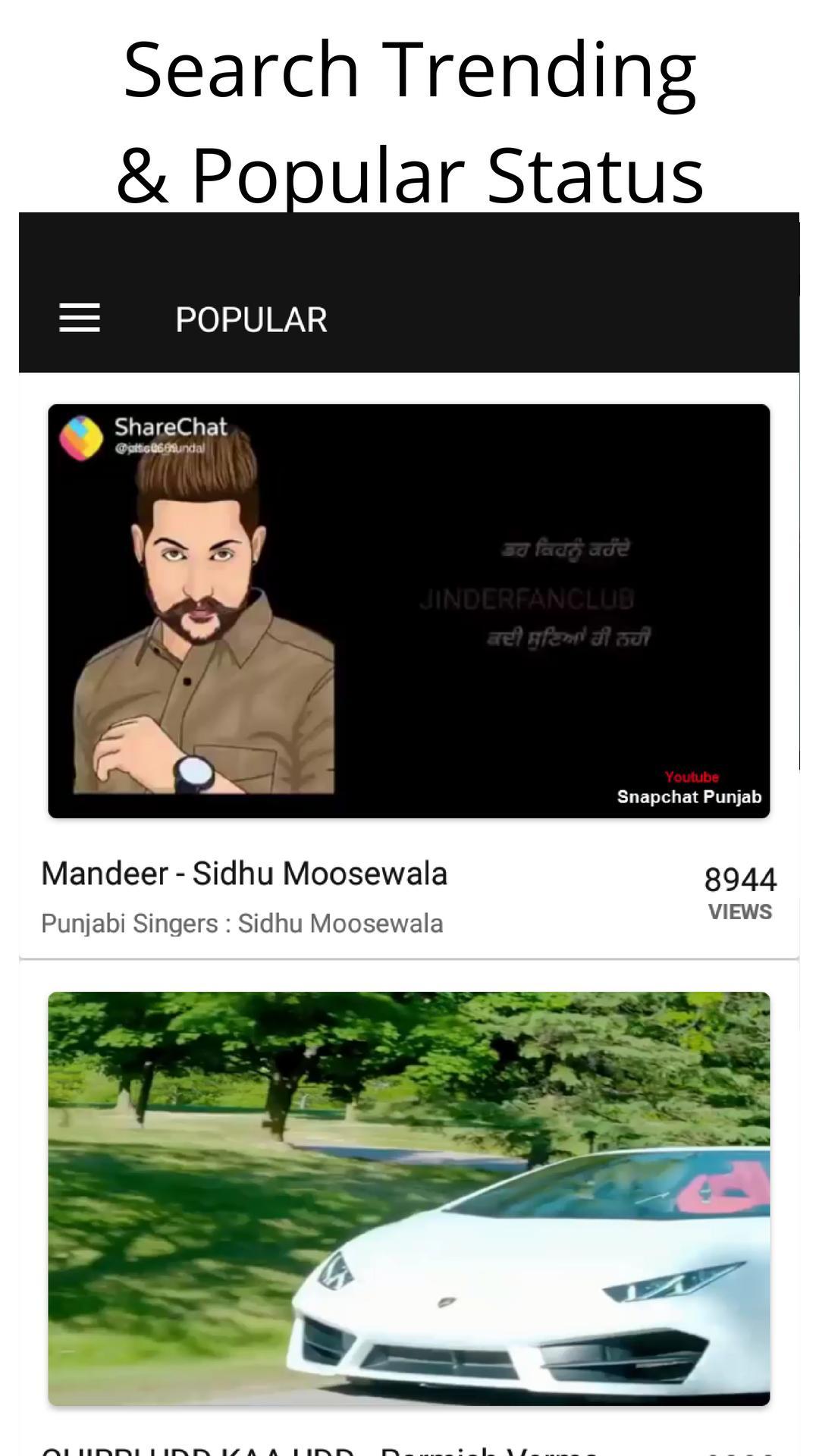 Punjabi Video Status For Whatsapp Jatt Attitude For