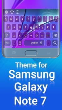 Theme for Samsung Note 7 poster