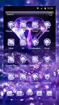 Purple Diamond Wallpaper screenshot 1