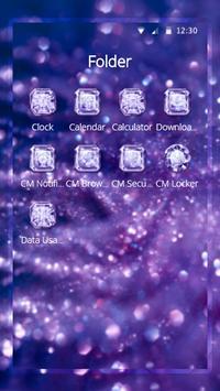 Purple Diamond Wallpaper screenshot 2