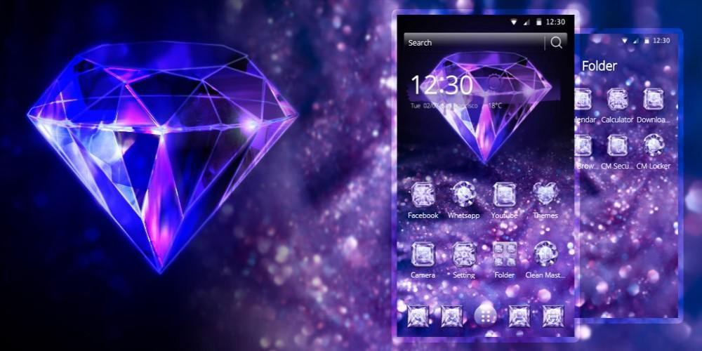 Purple Diamond Wallpaper For Android Apk Download