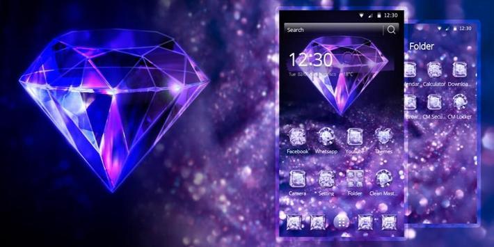 Purple Diamond Wallpaper screenshot 3
