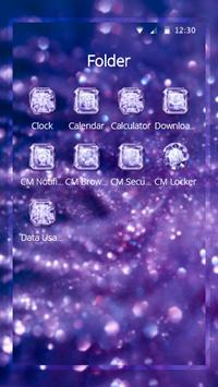 Purple Diamond Wallpaper screenshot 9