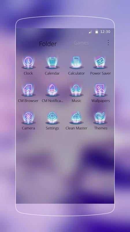 Purple glitter star theme apk download gratis personalisasi apl purple glitter star theme apk screenshot thecheapjerseys Images
