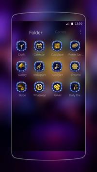 purple rose romantic gold apk screenshot