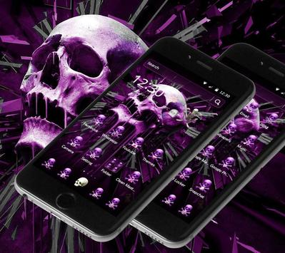 Skull Gothic Theme screenshot 4