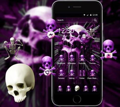 Skull Gothic Theme screenshot 1