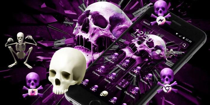 Skull Gothic Theme screenshot 3