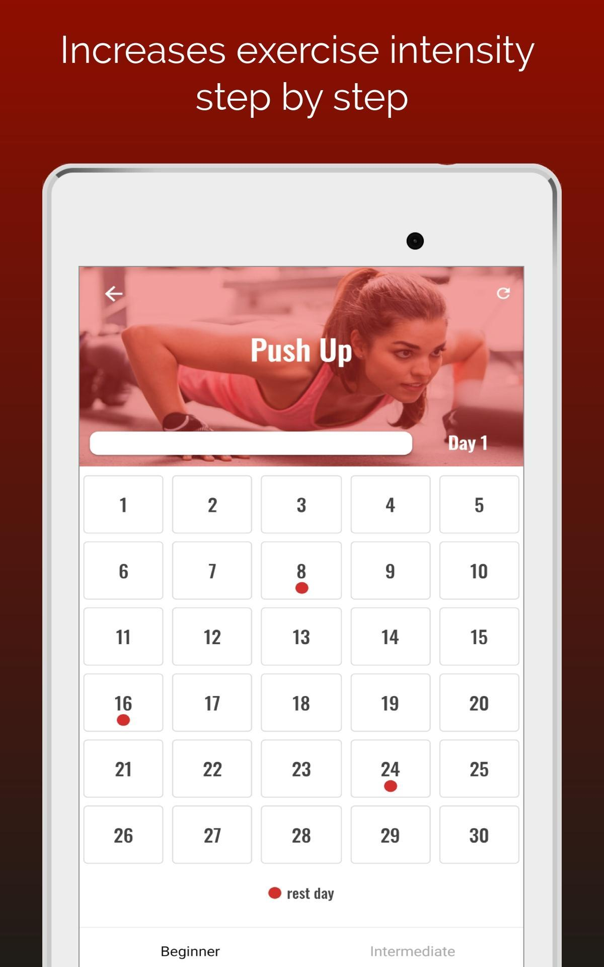 30 Day Push Up Challenge for Android - APK Download