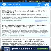Bollywood News Feed icon