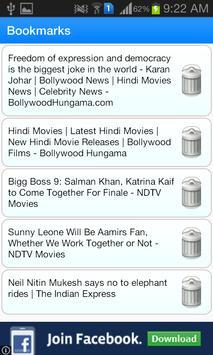 Bollywood News Feed apk screenshot