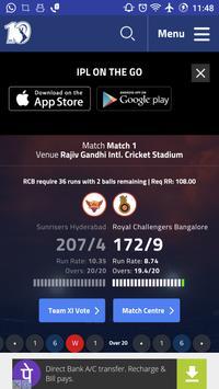 2017 IPL T20 Cricket Schedule screenshot 3