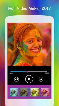 Holi Video Maker 2017 screenshot 3