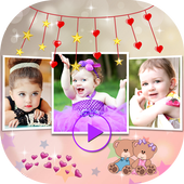 Baby Photo Video Slideshow icon