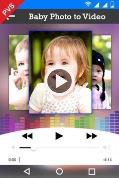 Baby Photo Video Slideshow screenshot 1