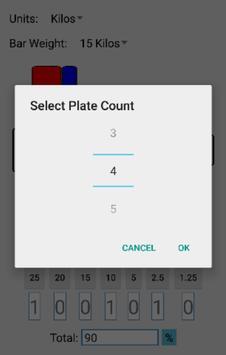 Lift Calculator apk screenshot