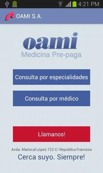 Oami App poster