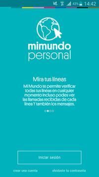 Mi Mundo Personal Paraguay poster