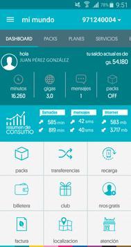 Mi Mundo Personal Paraguay apk screenshot